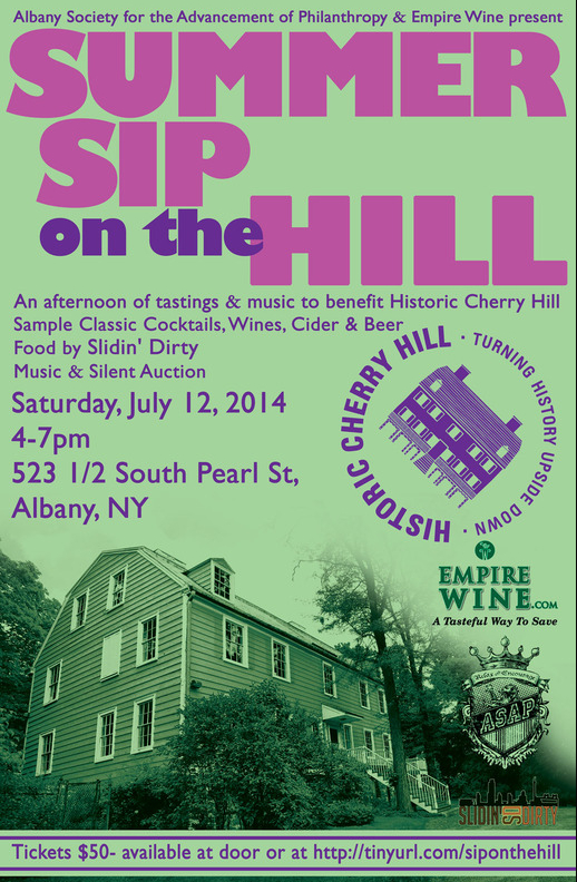 Summer Sip on the Hill