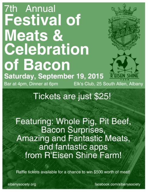 Festival of Meats & Celebration of Bacon
