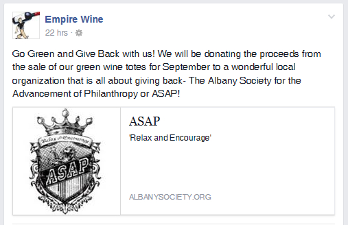 Empire Wine FB Post